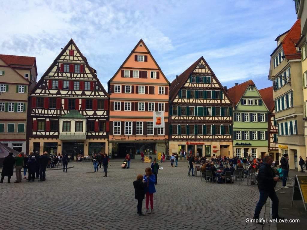 Marktplatz Tubingen Germany