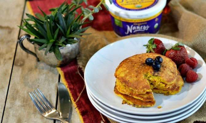 You Need these Cottage Cheese Blender Pancakes in Your Life