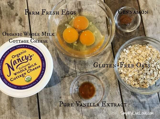 ingredients cottage cheese blender pancakes
