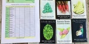 Let's Garden! Printable Garden Planting Guide Zone 5