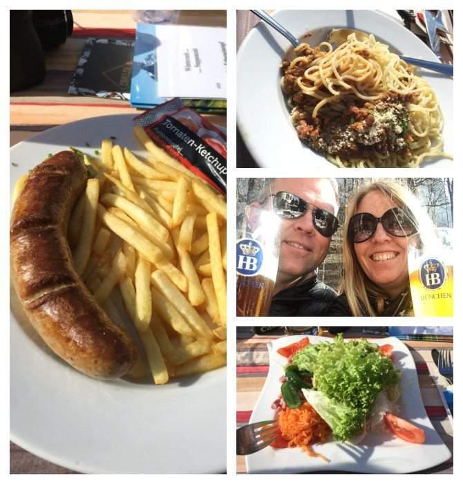 Food at Schloßrestaurant Neuschwanstein