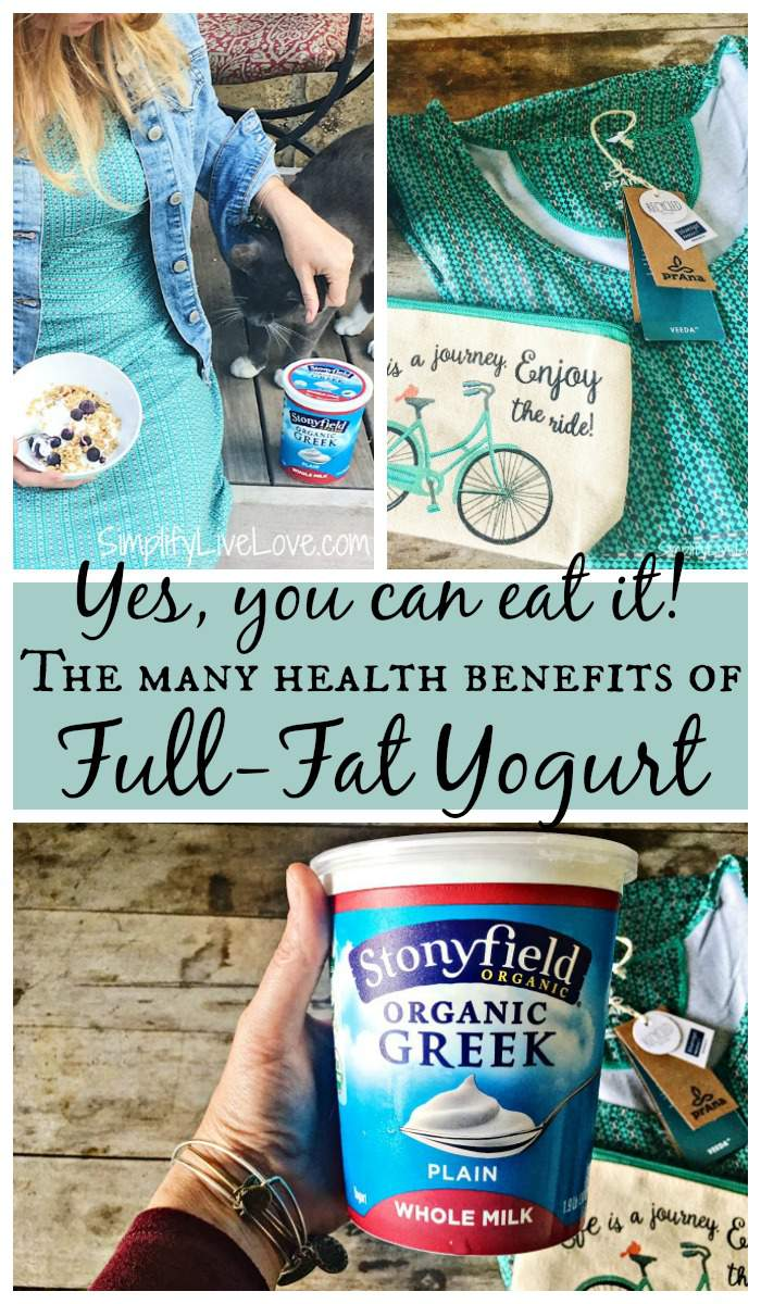 For years we have been told to avoid full fat dairy because it's unhealthy. But is it really? Read about the whole milk yogurt health benefits in this post.. You might even consider adding full-fat yogurt to your own diet. AD