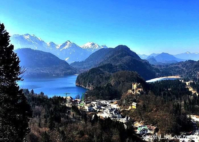 Hohenschwangau and the Bavarian Alps