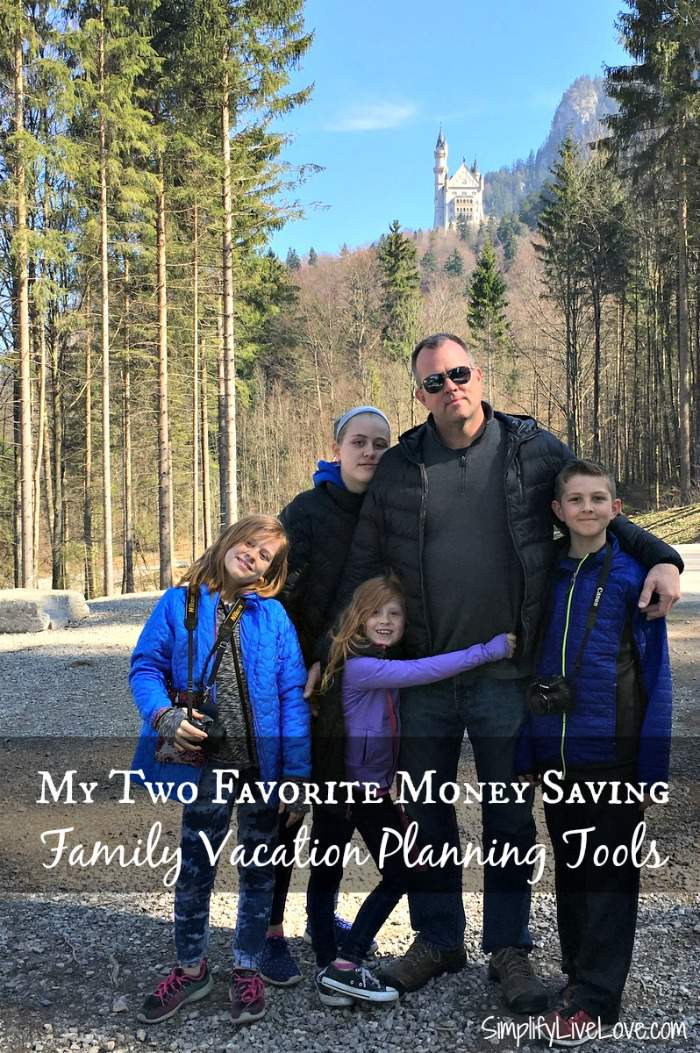 Planning a family vacation this summer? My two favorite money saving family vacation planning tools will help you save money!