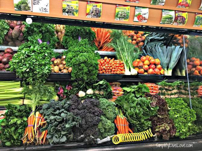 Only organic produce at Natural Grocers!