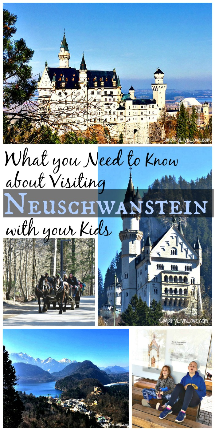 Make your family vacation to Europe fantastic! Here's what you need to know about visiting Neuschwanstein with Kids!
