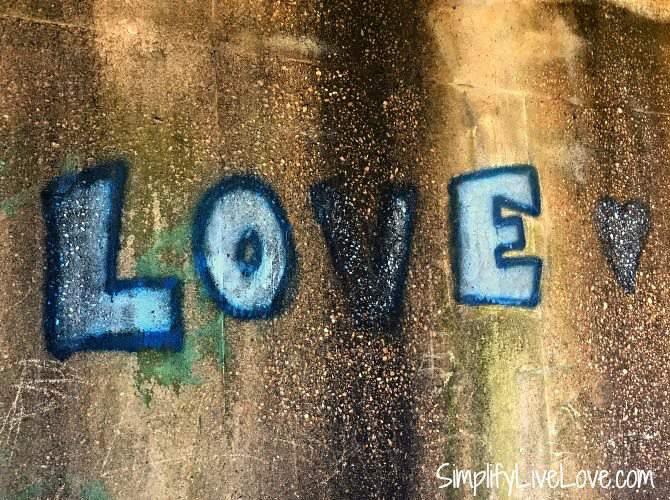 Graffiti at the bottom of the Pettis Bridge in Selma, Alabama