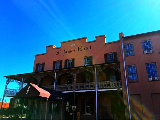 St James Hotel in Selma Alabama