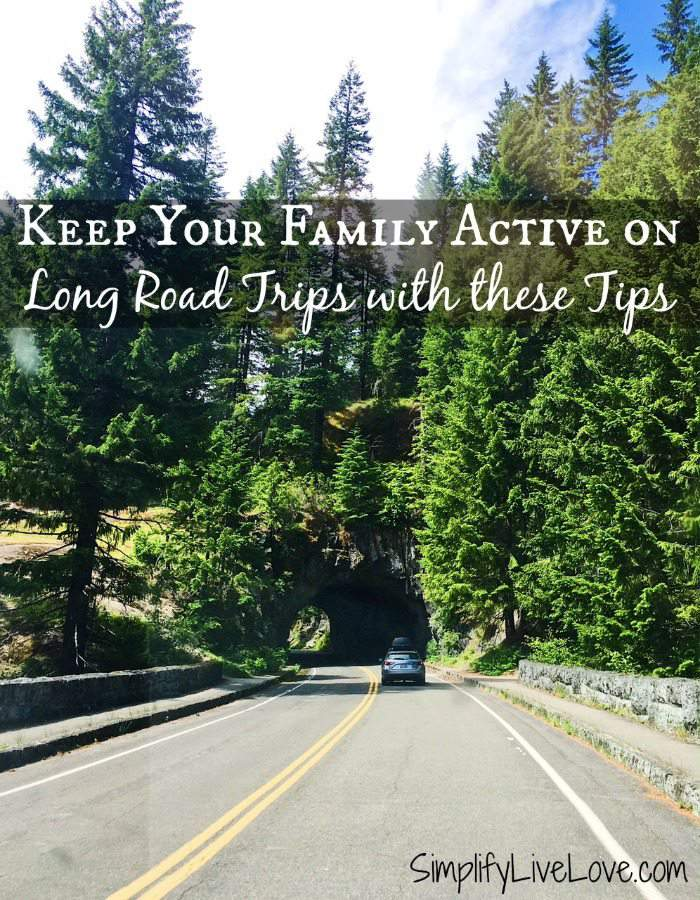 Keep Your Family Active on Long Road Trips with these Tips