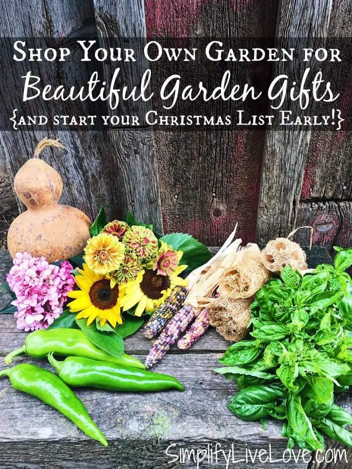 Shop Your Own Garden to Find Beautiful Garden Gifts