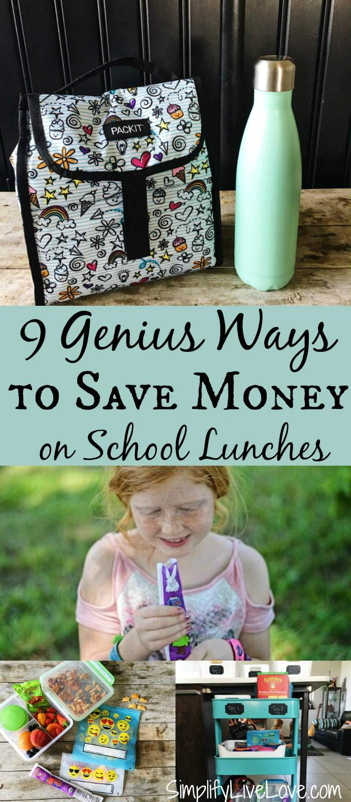 Save money on school lunches with these 9 genius tips! They're all great tips, but number 7 and 9 are my favorite.
