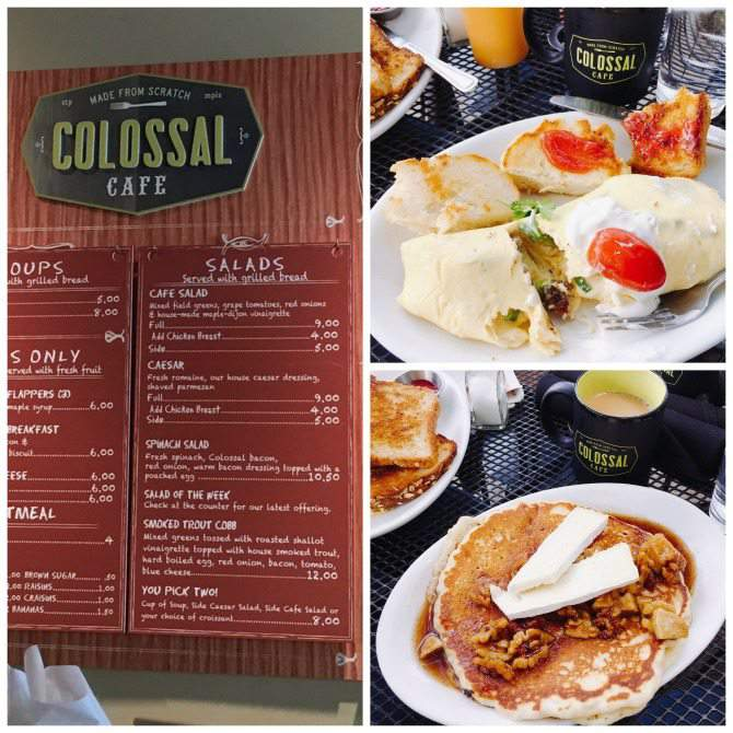 Breakfast at the Colossal Cafe in St. Paul, MN