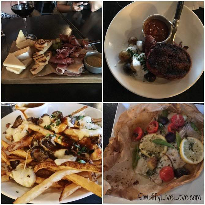 Delicious food at Fire Lake Restaurant at Mall of America