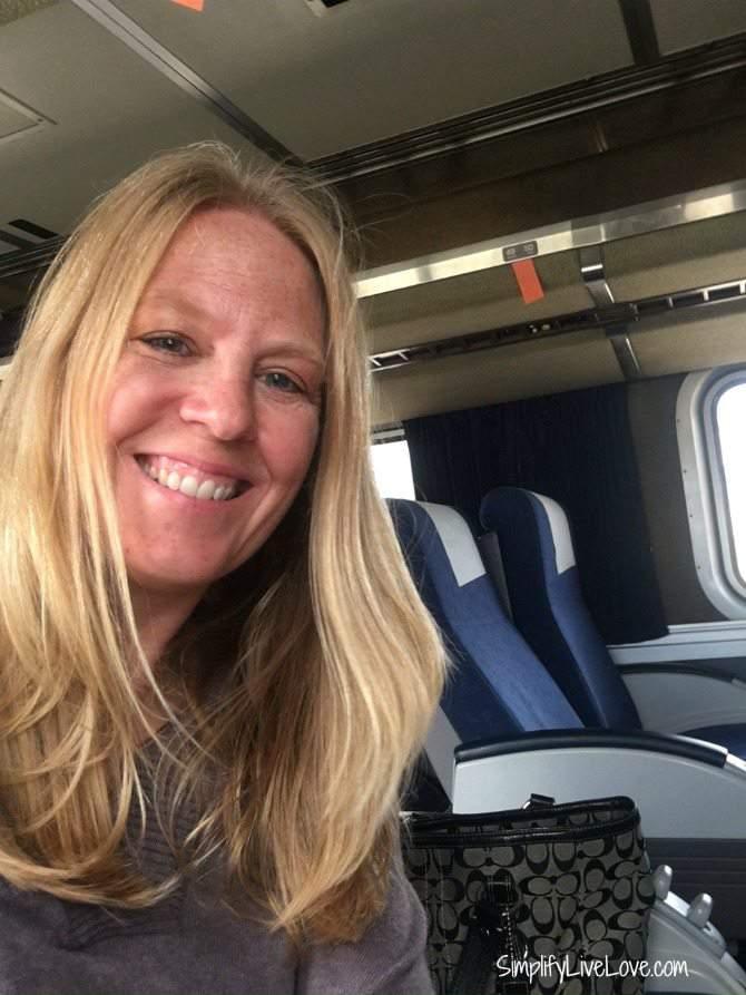 sporting prAna on Amtrak #wheredoyouprana