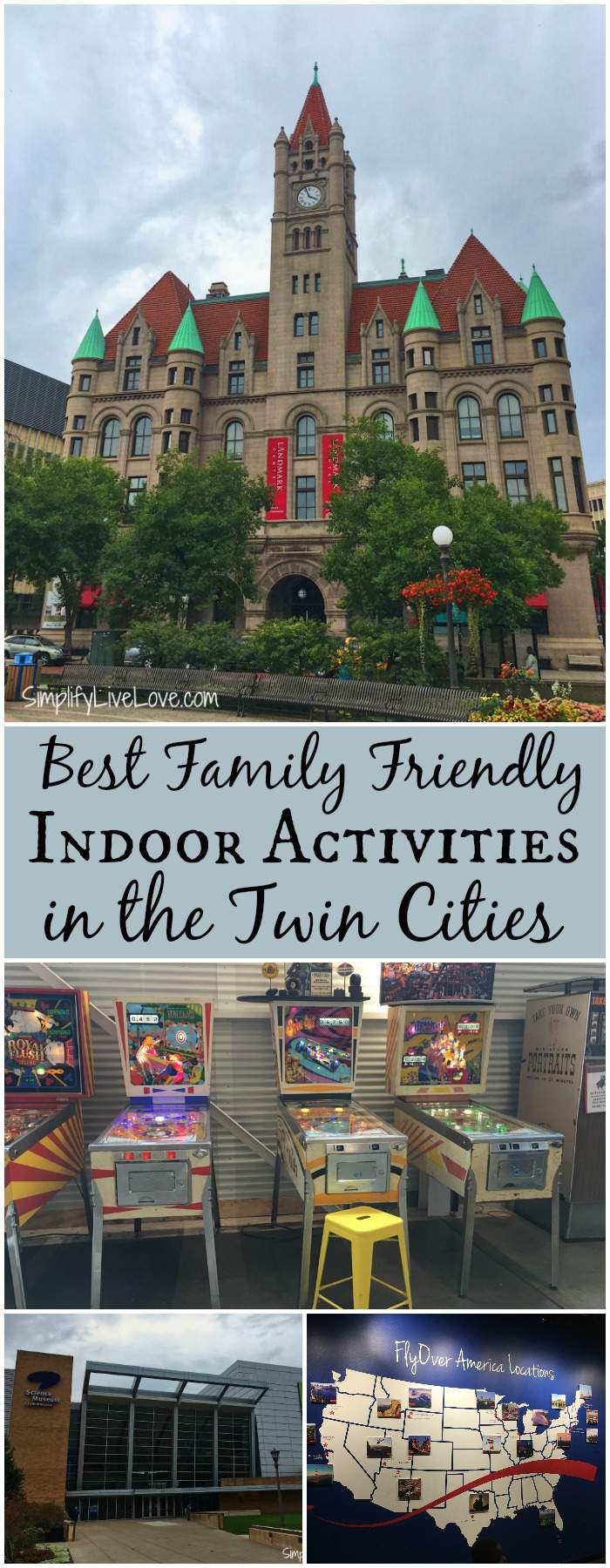 Looking for family friendly indoor activities in the Twin Cities? Look no further. Your older kids and fun loving adults will enjoy everything on this list! A lot of the activities are free and they're all perfect for cold or rainy weather.