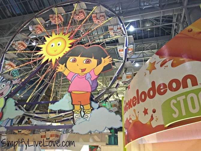 Family Friendly activities in the Mall of America