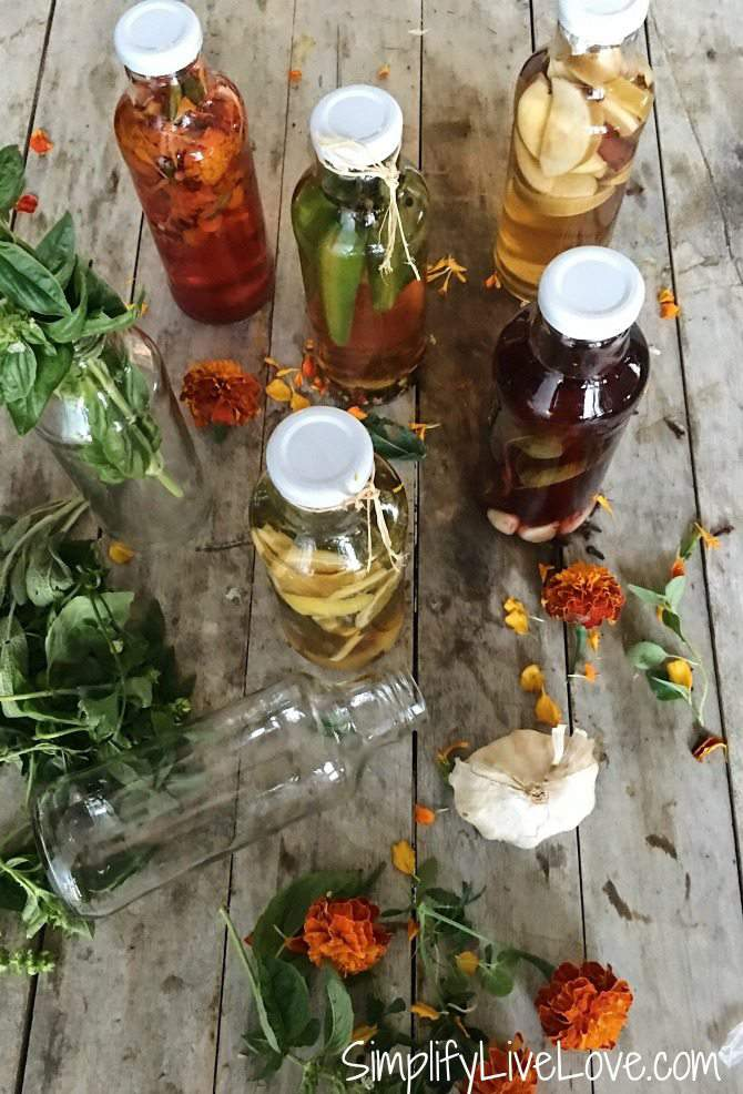 Gourmet Vinegars to Make Easily at Home