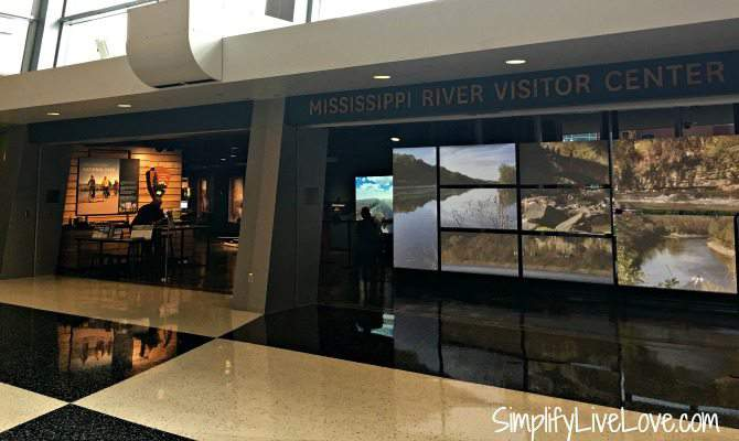 Mississippi River Center in the Science Museum of Minneapolis